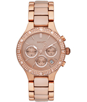 DKNY Broadway-Rose-Gold-Glitz NY8508 -