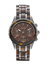 DKNY Brooklyn-Chrono-Tortoise NY8709 - 2012 Fall Winter Collection