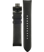 Emporio Armani AR2059-Black-Leather-Strap-(No-Clasp) AAR2059 -