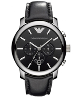 Emporio Armani AR0431-Chrono-Steel-Black AR0431 - 2010 Spring Summer Collection