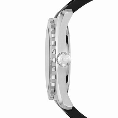 how to change time on a watch armani