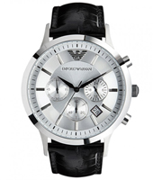 Emporio Armani AR2432-Chrono-Black-&-Silver AR2432 - 2010 Spring Summer Collection
