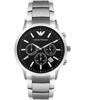 Emporio Armani AR2434-Chrono-Steel AR2434 - 2010 Spring Summer Collection