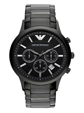 Emporio Armani AR2453-Chrono-All-Black AR2453 - 2012 Spring Summer Collection
