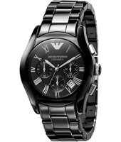Emporio Armani AR1400-Ceramica-Chrono-XL-Black AR1400 - 2010 Fall Winter Collection