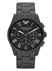 Emporio Armani AR1457-Ceramica-Chrono-XL-Black-Matt AR1457 - 2012 Spring Summer Collection