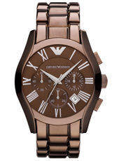Emporio Armani AR1610-Chrono-Brown-Steel AR1610 - 2012 Spring Summer Collection