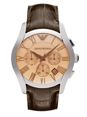 Emporio Armani AR1634-Chrono-Brown AR1634 - 2012 Fall Winter Collection