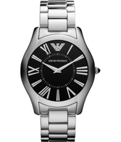 Emporio Armani AR2022-Slim-Steel-Black AR2022 - 2010 Fall Winter Collection