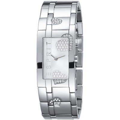 Esprit Glam Heart Silver Houston ES102312002, Esprit 手表 女士图片
