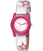 Shiny Star 26mm Pink Kids Watch with Pink Stars