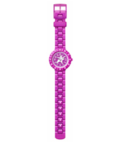 Colour Purple Reshake Swiss Made Girls Watch