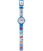 Water Stripes Blue kids watch