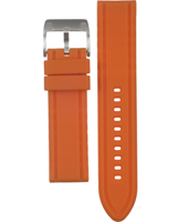 AM4201 22mm 22mm Orange Rubber Strap