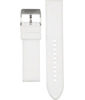 AM4203 22mm White Rubber Strap