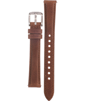 AM4379 14mm 14mm Brown Leather Strap
