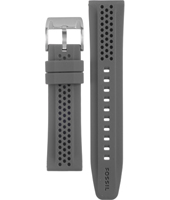 AM4387 22mm 22mm Grey Rubber Strap