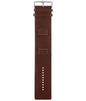 BG1013 22mm 22mm Brown Leather Cuff Strap