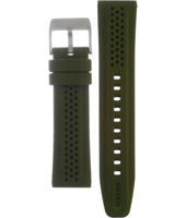 BG2220 22mm 22mm Olive Rubber Strap