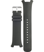 BQ9353 14mm Black Rubber Strap