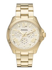 Cecile 40mm Gold Multifunction Ladies Watch
