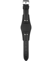 CH2564 22mm 22mm Black Leather Strap