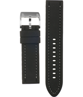 CH2573 22mm 22mm Black Rubber Strap