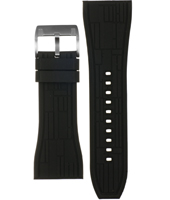 CH2577 30mm 30mm Black Rubber Strap
