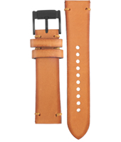 CH2695 Flight 22mm Brown Leather Strap