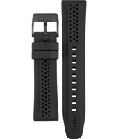 CH2703 22mm 22mm Black Rubber Strap