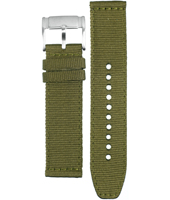 CH2726 Flight 22mm Olive Leather Strap