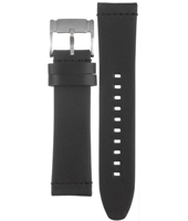 CH2818 22mm Black Leather Strap