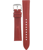 CH2833 Flight 18mm 18mm Red Leather Strap