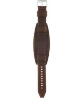 CH2857 Retro Traveler 22mm 22mm Brown Leather Strap