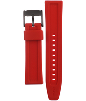 CH2871 Retro Traveler 22mm 22mm Red Rubber Strap