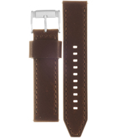 CH2886 Retro Traveler 22mm 22mm Brown Leather Strap