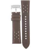 CH2893 Retro Traveler 22mm Brown Leather Strap