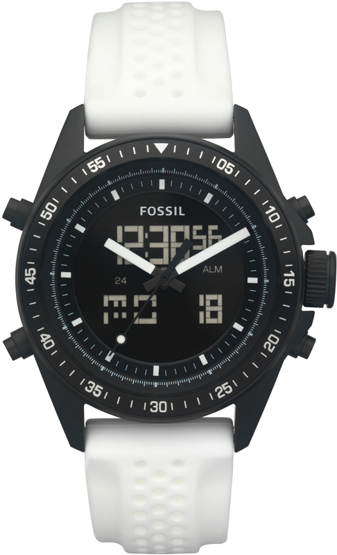fossil bq9415 gents watch decker anadigi