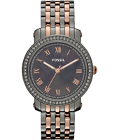 Fossil Emma-MOP-Gunmetal-Rose-Gold ES3115 - 2012 Fall Winter Collection