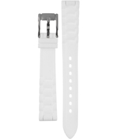 ES2878 Riley Mini 14mm 14mm White Rubber Strap