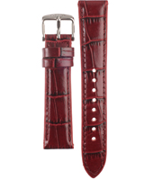 ES2981 18mm Red Leather Strap
