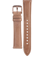 Fossil Stella-Rose-Gold-Leather-Strap AES3104 -