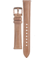 ES3108 Wallace 16mm 16mm Rose Gold Leather Strap