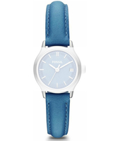 ES3276 Heather 12mm White leather strap