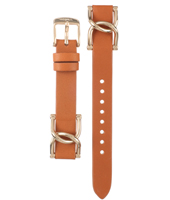 ES3723 Riley 18mm Brown Leather Strap
