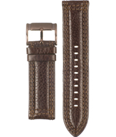 FS4309 24mm 24mm Brown Leather Strap