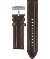 FS4338 24mm 24mm Brown Leather Strap