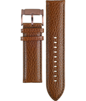 FS4386 24mm 24mm Brown Leather Strap