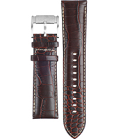 FS4437 24mm 24mm Brown Leather Strap