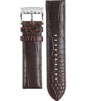 FS4441 24mm 24mm Brown Leather Strap